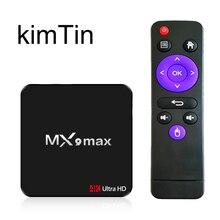 MX9 Max 2G 16G Android TV Box OS 7 1 Quad Core RK3328 64bit CPU USB3