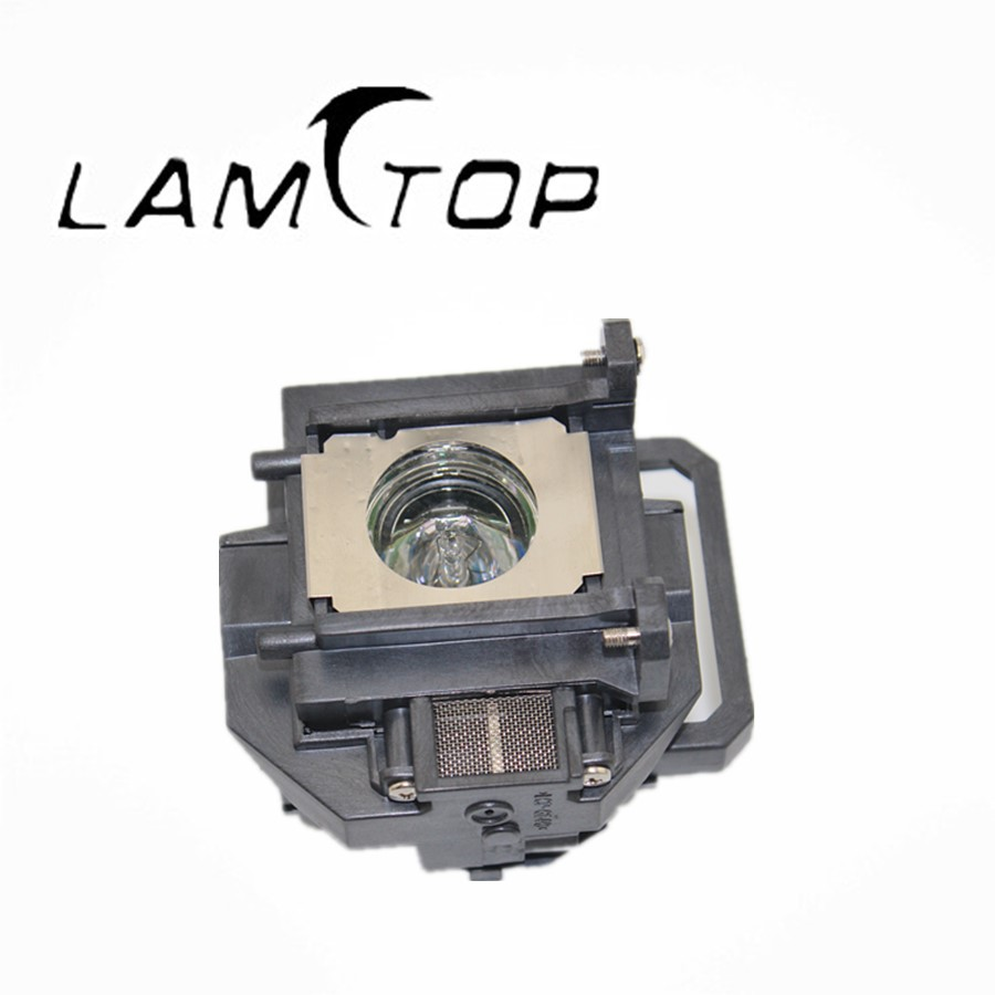 все цены на FREE SHIPPING  LAMTOP    projector lamps with housing   ELPLP53/V13H010L53  for  EB-H473B онлайн