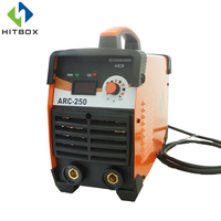 HITBOX ARC WELDER ARC250 DC 220V THREE PCB BOARD INVERTER WELDING MACHINE WITH ACCESSORIES