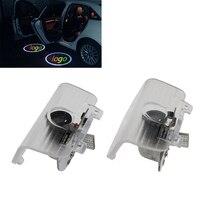 2x LED Logo Light 12V Bright Ghost Shadow Projector Car Door Courtesy Laser Light For Honda