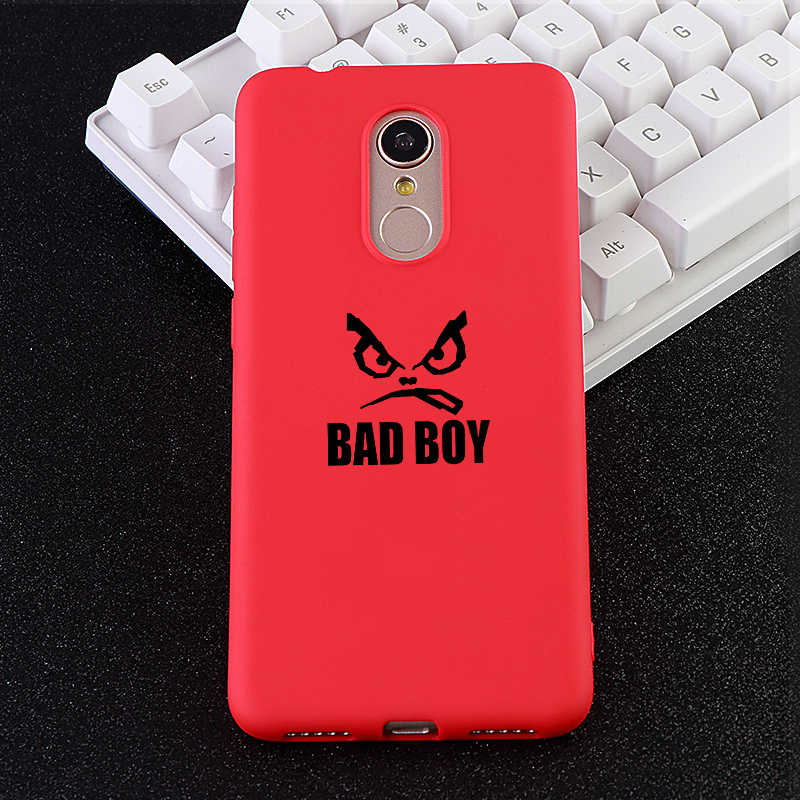 Funny Phone Case for Xiaomi Redmi Note 6 MIX 2 3 S 8 SE Youth Max 4x 5 A Pro Cases Bad Boy Soft Silicone Phone Cover Accessories