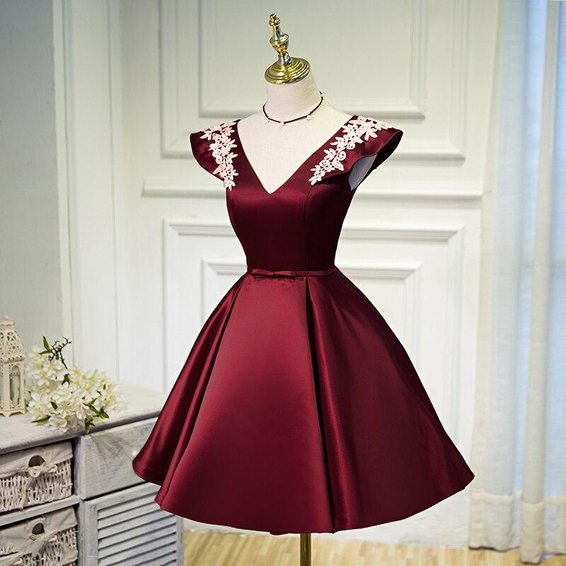 Beading Sequins Cap Sleeve Satin Lace Evening Dress 6