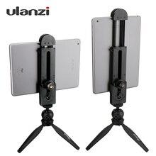 Ulanzi 5 12 Tablet Montieren Stativ, tabletop Pad Adapter Clamp Halter Stativ für iPad Air Pro Mini 2 3 4 Xiaomi Mipad 2 PC