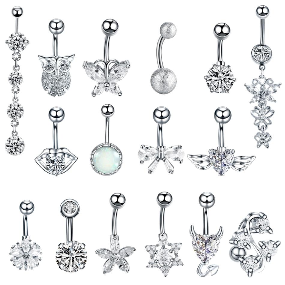 1 шт., стальные сексуальные кольца для пупка, пирсинг пупка, Ombligo Nombril, пирсинг для ушей, пупка, кольцо, ювелирные изделия для тела