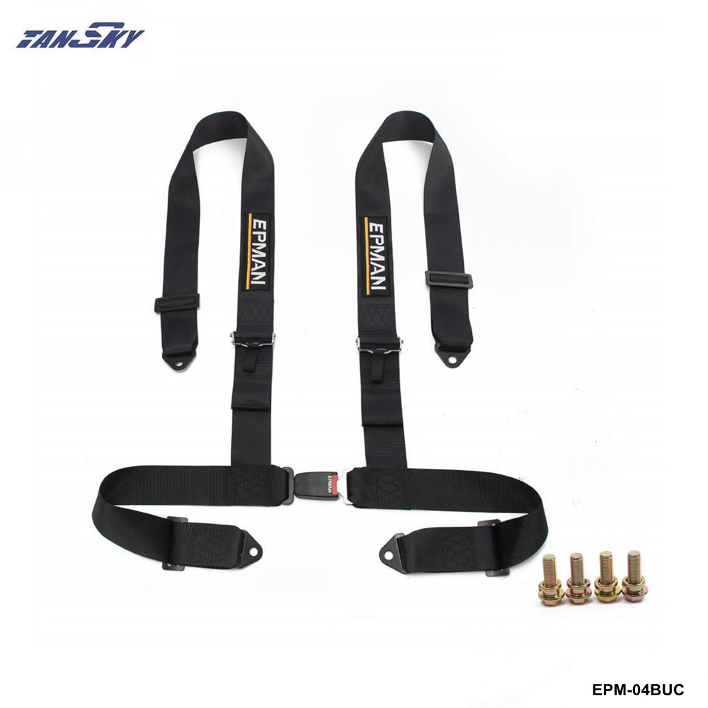 TANSKY -7 Colors Street Style Competition 4 Point Snap-In 3 Seat Belt Racing Harness safety Belt  EPM-04BUC-AF латунь оснастки ожерелье задатки с пометкой snap кнопки подвесные задатки и когтя омара застежками платина 20 23 2 7 мм