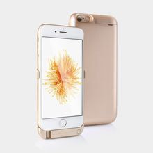 Для iPhone 6 6 S Батарея Зарядное устройство случае 5000 мАч внешнего резервного Батарея случае Запасные Аккумуляторы для телефонов пакет заряд задняя крышка для iPhone 6 6 S 4.7″