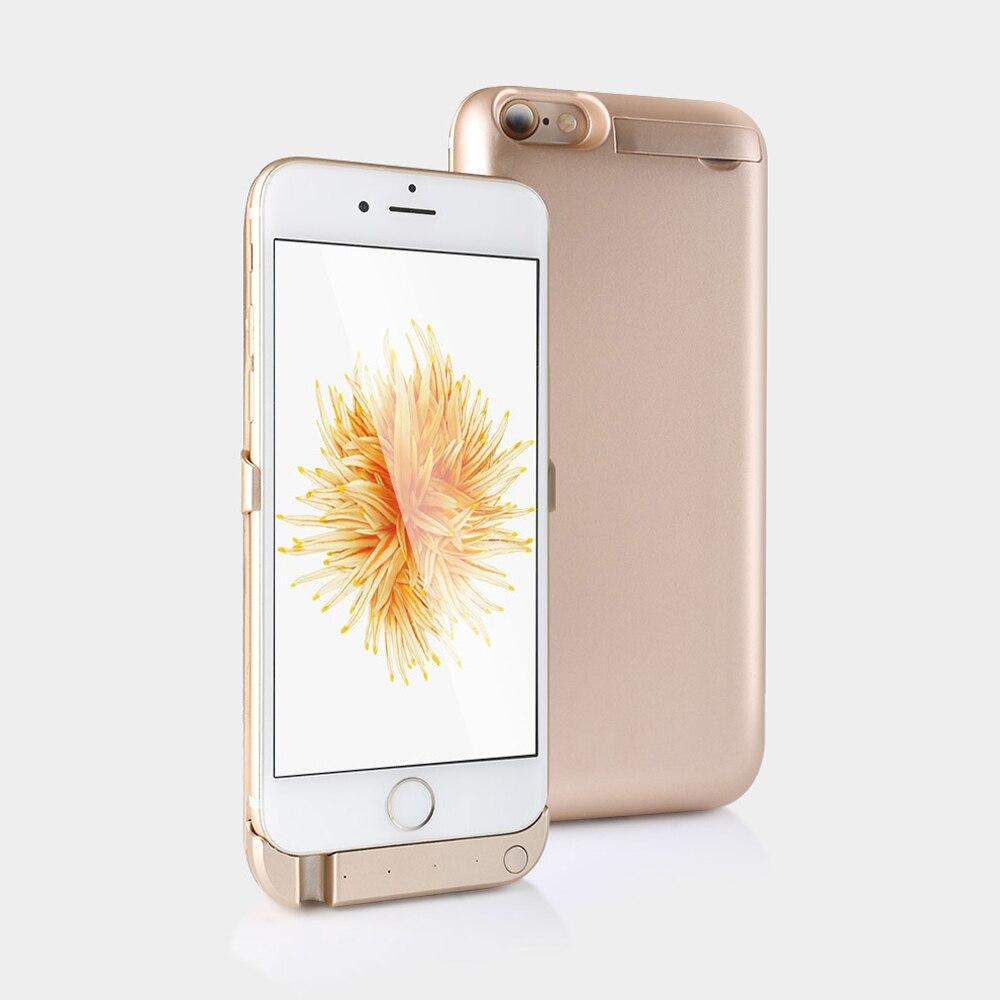 """imágenes para Para el iphone 6 6 s Caso Del Cargador de Batería 5000 mAH Externa Caja de Batería de Reserva Banco de la energía de Carga de la Contraportada para el iphone 6 6 s 4.7"""""""