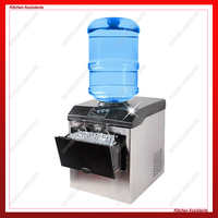 HZB25 electric commercial or homeuse portable counter top Automatic bullet ice maker making machine not cube ice maker