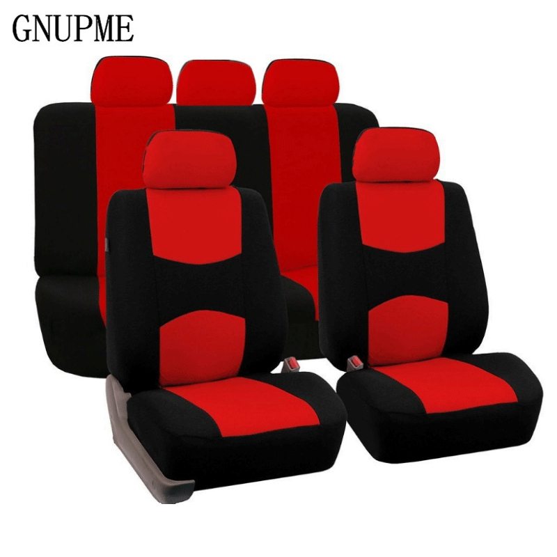 GNUPME New High Quality Universal Car Seat Covers Auto Interior Styling Decoration Protect Universal Fit Interior Accessories-in Automobiles Seat Covers from Automobiles & Motorcycles