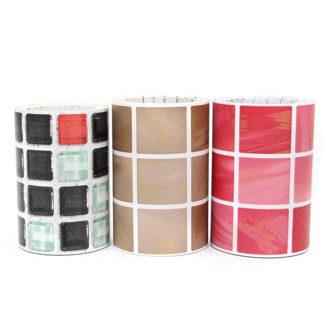 3 Colori Autoadesivo Piastrelle Adesivi Murali Impermeabile ...