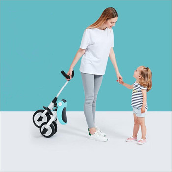 цена на Children's Tricycle Trolley 2-3-6 Years Old Bicycle Lightweight Portable Folding Bicycle Stroller high Quality Toy for Children