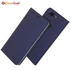 На Алиэкспресс купить чехол для смартфона ultra-thin pu leather flip wallet case stand cover for oneplus 5t