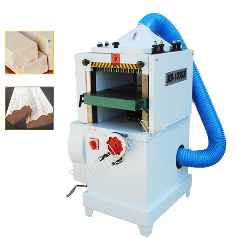 High Speed Woodwoking Planer 220V Wood Wire Machine Multi-functional Single-sided Planing Machine