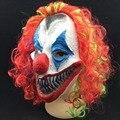 Halloween Máscara Assustadora Máscara de Palhaço Coringa dos homens Do Partido Rosto Cheio Dia Horror Engraçado dos miúdos Das Mulheres Para Festa de Máscaras Traje suprimentos