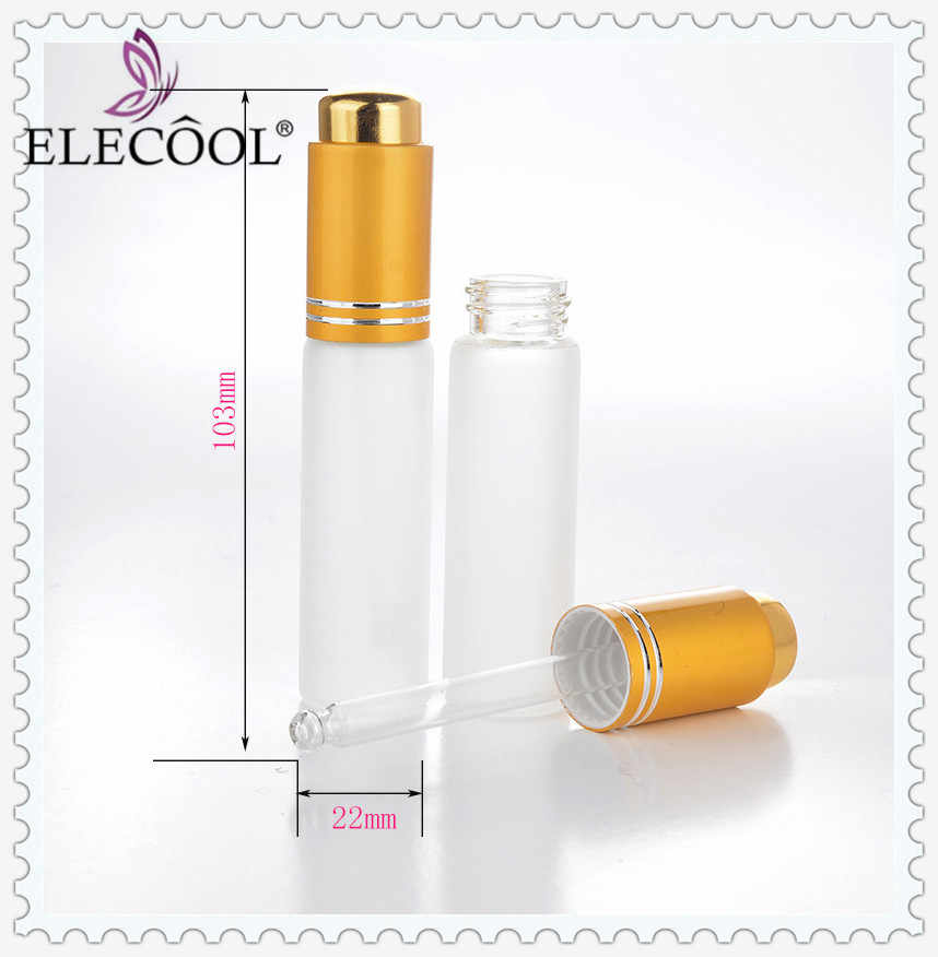 865a3be530f2 ELECOOL 20ml Alumite Portable Refillable Perfume Atomizer Empty Spray  Frosting Bottles Cosmetics Container Pump Press Dispenser