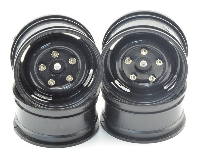 "4Pcs Metal 1.9/"" Felgen Wheel Rims mit 96mm Tyres For Axial SCX10 RC Crawle car"