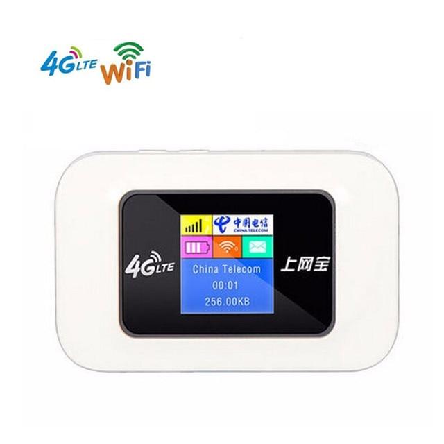 KuWFi Sbloccato Mini 4G WIFI Router 150 Mbps Wireless Router LTE Mobile Hotspot WiFi 3G 4G WiFi router Con Slot Per SIM Card