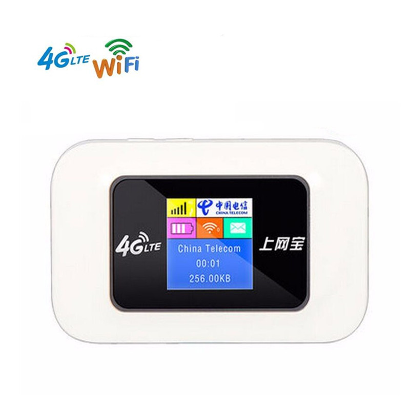 Image 1 - KuWFi Unlocked Mini 4G WIFI Router 150Mbps Wireless LTE Router Mobile WiFi Hotspot 3G 4G WiFi Router With SIM Card Slot-in 3G/4G Routers from Computer & Office