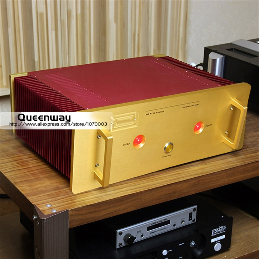 Study/Copy Dartzeel NHB108 Super Value Version Power Amplifier HIFI AMP NO Negative Feedback Amplifier Circuit Power AMP name machine b 108 circuit no big loop negative feedback pure post amplifier hifi fever grade high power 12 tubes