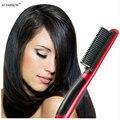 2016 herramientas de peinado alisado Profesional cepillo de pelo peine cepillo plancha de pelo Turmalina Cerámica de Calor eléctrico rápido