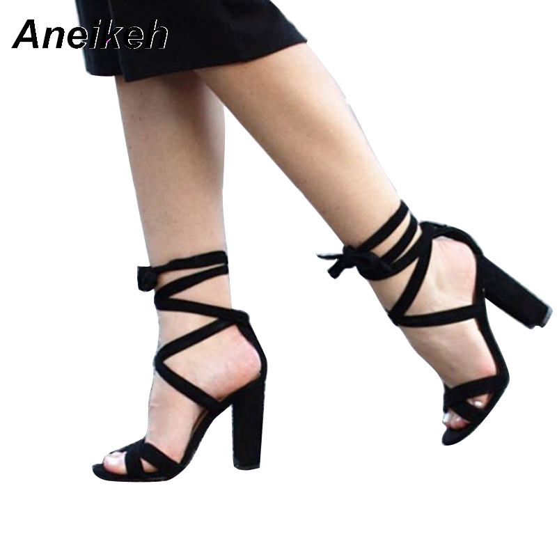 Aneikeh Sexy Transparent Women s Sandals High Heels Shoes Summer 2018 Clear  Ladies Open Toe Party Wedding Shoes Size 35 40 -in High Heels from Shoes on  ... 9a50960608db