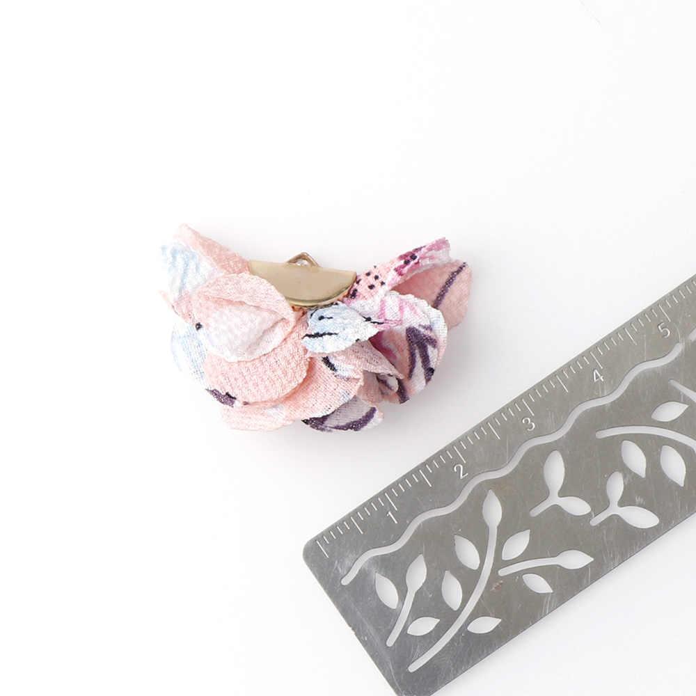 10 chiếc 22mm Mix Màu Tua Rua Ren Viền Dành Cho Kim Tuyến Macrame TỰ LÀM Trang Sức Dây Chuyền Chìa khóa Điện thoại Bông Tai Vòng Cổ mặt dây chuyền