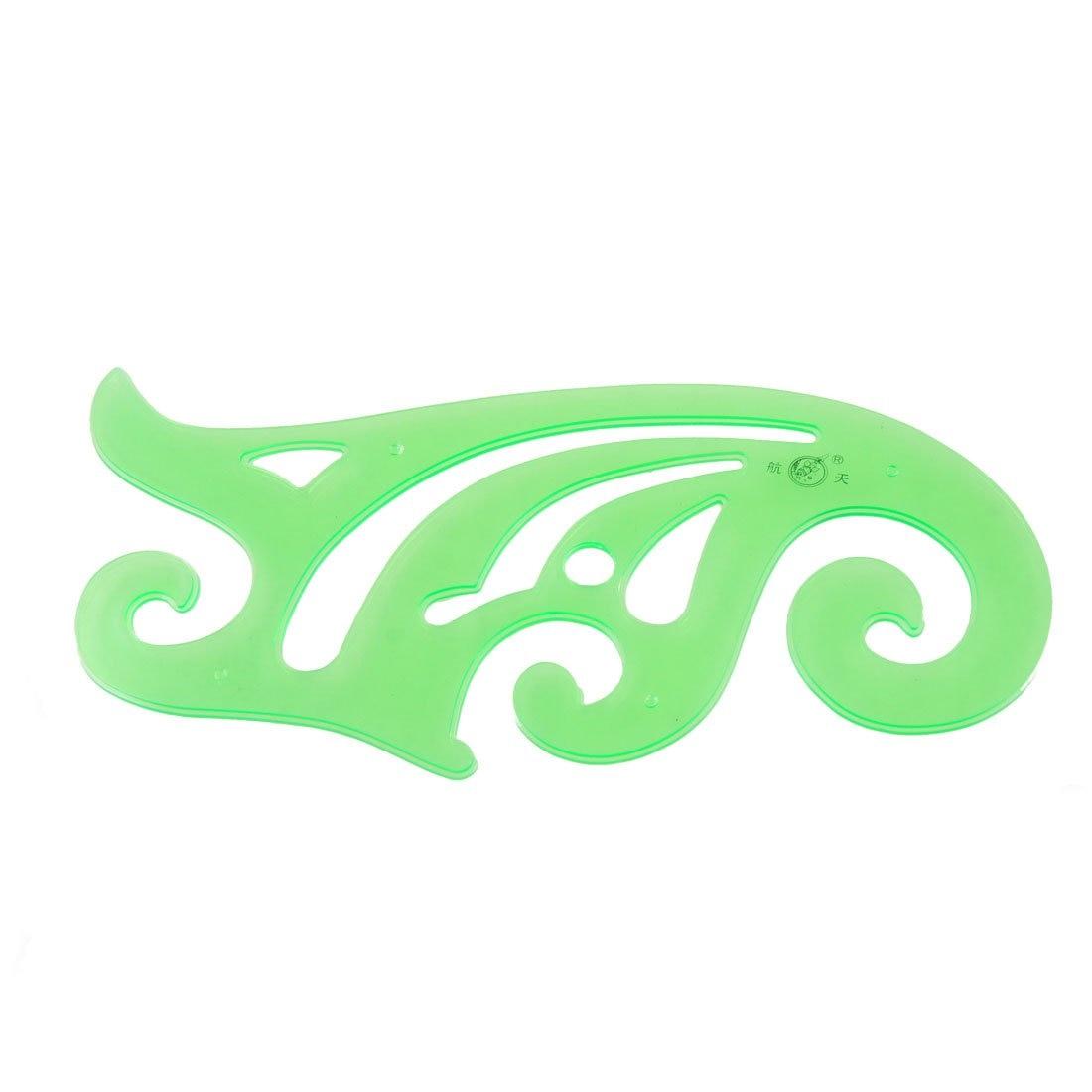 все цены на 10pack (25cm Long Clear Green Drafting Drawing Tool Plastic French Curve Ruler онлайн