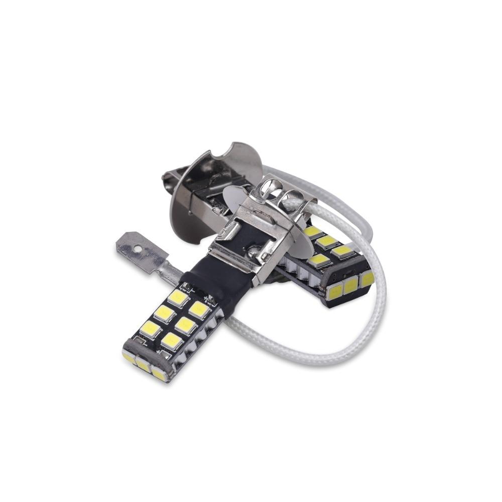 배 H3 Canbus는 빛 15SMD 2835 LED 차 LED 정면 빛 헤드 - 자동차 조명 - 사진 6