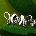 Fantasia borboleta 925 brincos de jóias de prata
