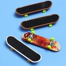 2 шт. пальчиковая игрушка для скейтборда Дети Мини гриф игрушка анимация рядом модель сплав и ABS детей играть игрушки#20