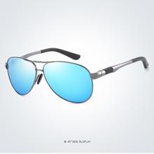 Mens Al-mg  Polarized Lenses Double Beam Sun Glasses Sunglasses Custom Made Myopia Minus Prescription Lens -1 to -6