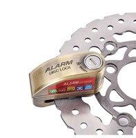 110bd Motorbike Motorcycle Alarm Lock Bicycle Pit Bike Scooter Anti theft Alarm Wheel Disc Brake Security Safety Siren Lock