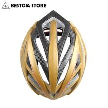 GUB New PRO 60% More Safety Carbon Fiber Frame Bicycle Helmet Cycling Helmet Road City Bike Racing Helmets Sports Design Red