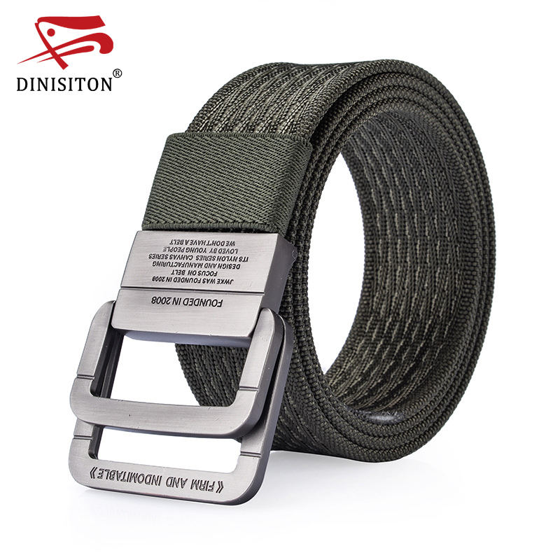 DINISITON Cintura di Nylon uomo Army Tactical Cinture uomo Vita - Accessori per vestiti
