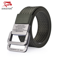 DINISITON Nylon Belt Men Army Tactical Belts Man Military Waist Canvas Male High Quality Outdoor Equipment