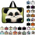"7.9 9.7 10 12 13 14 15 17"" panda Tablet Sleeve Case Mini PC Laptop Bag 10.1 11.6 13.3 15.4 15.6 Computer Handbag Protector Cover"