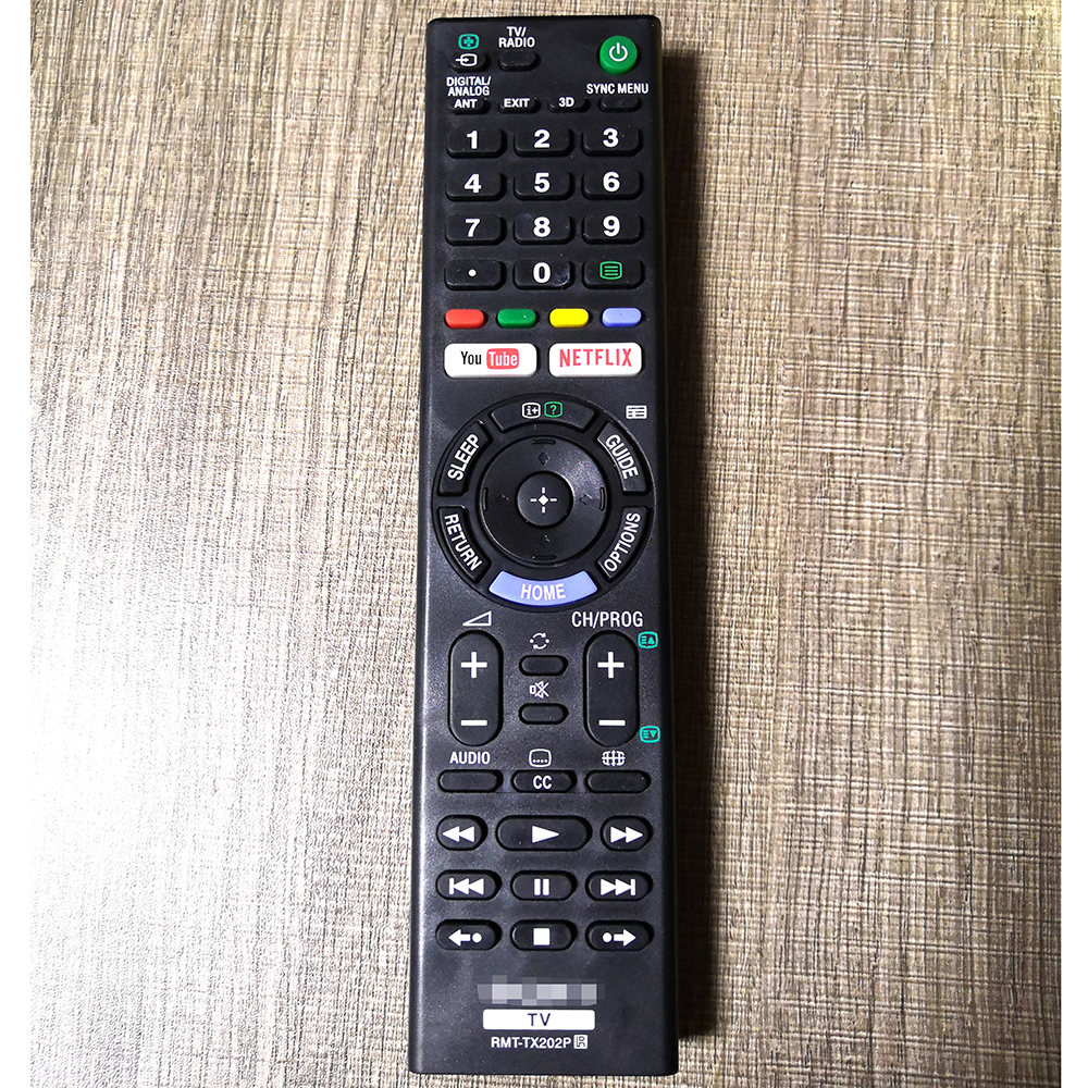 US $9 19 7% OFF|New Replace RMT TX202P Remote Control For Sony LCD Smart TV  RMT TX300P KD 55X9305C KDL 55W805C 55W808C KDL 50W755C KD 55X8509C-in