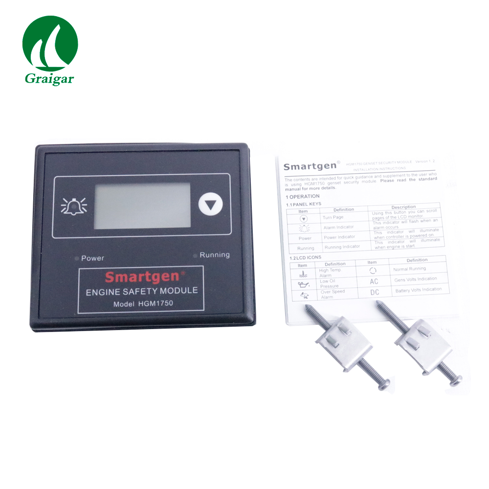 HGM1750 Smartgen contrôleur de groupe électrogène de Module de contrôle automatique du moteur