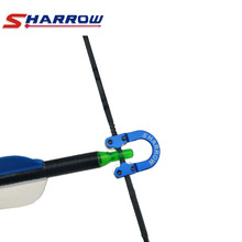 Sharrow Compound Bow Aluminum D Loop Release Bow String D Ring D Nock Archery Bow and Arrow Shooting Hunting