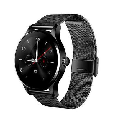 Track Wristwatch Bluetooth Smartwatch Heart Rate Monitor Pedometer Dialing For Android IOS K88H Smart Watch K88h Smart Watch lemfo lem5 android 5 1 smart watch phone 1gb 8gb heart rate monitor pedometer google map smartwatch bluetooth for ios android