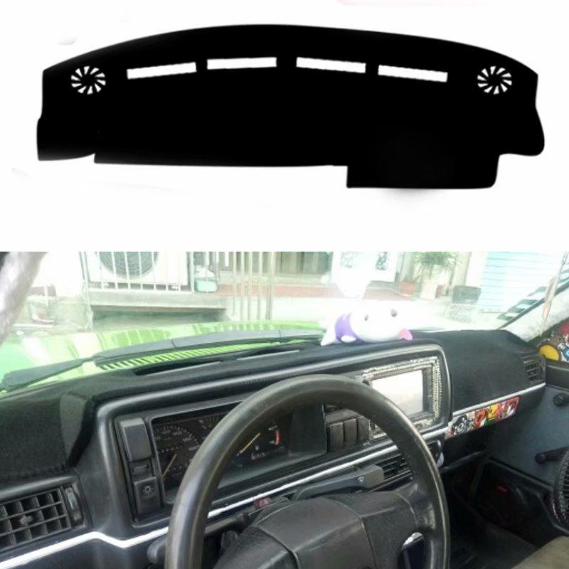 Accessoires de voiture Dashmats de voiture tapis de couverture de tableau de bord pour Volkswagen VW Golf Jetta Mk2 GTI
