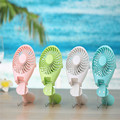 2016 Mermaid Hand-held USB Portable Mini Foldable Fan Battery Rechargeable and Speed Adjustable Outdoor Mini Air Cooling Fan