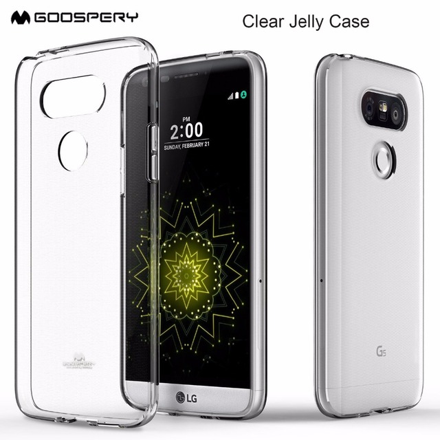 first rate c07db aae6c US $3.99 15% OFF|For LG G4 G5 G6 V30 Case Genuine Mercury Goospery  Transparent Clear Jelly Flexible TPU Soft Rubber Phone Cover case-in Fitted  Cases ...