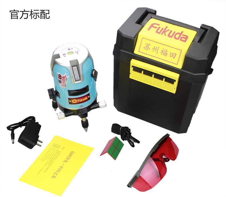 Free shipping Fukuda 2 lines laser level meter  360 degree free shipping kapro 872 laser nivel 2 lines prolaser laser measuring tools