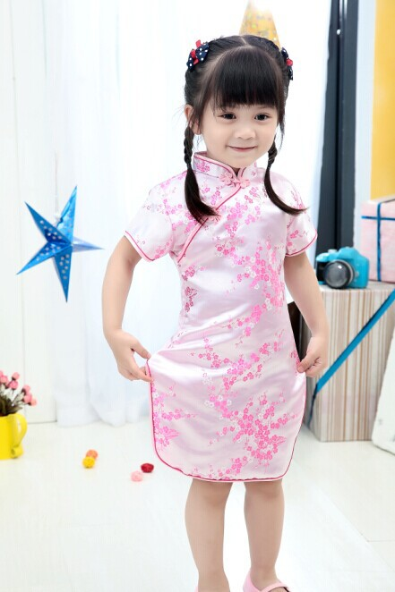da0b50b4d 2019 New Summer Baby Girl Dresses Kid Chinese New Year Style chi pao qipao  cheongsam gift Clothes-in Cheongsams from Novelty & Special Use on  Aliexpress.com ...