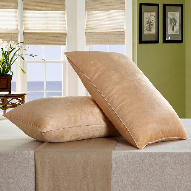 Crystal Cashmere Pillow 1pc 48 74cm Single Neck Pillow Memory Throw