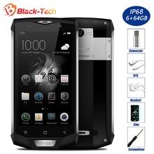Дешевые Blackview BV8000 Pro IP68 Водонепроницаемый Мобильный Телефон 5.0 «FHD MTK6757V Окта основные 6 ГБ RAM 64 ГБ ROM 16MP Камера Стороны Отпечатков Пальцев 4 Г LTE