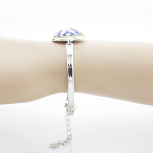 Image 5 - JWEIJIAO pulsera de Metal con diseño musulmán, brazalete con cadena de Metal con diseño musulmán, con mensaje de Dios islámico árabe, MU12