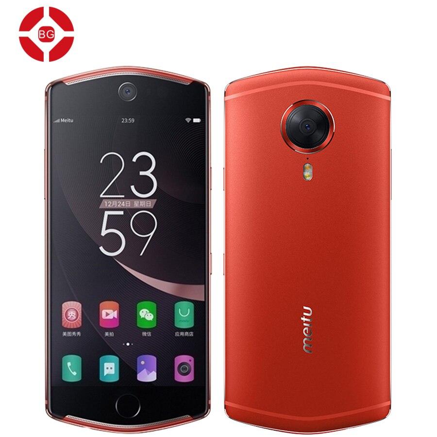 BG Original Meitu T8 Deca Core 2.3 GHz 4G LTE MT6797 Android 6.0 Mobile Phone 4G RAM 128GB ROM 21MP 5.2 Inch 3580mAh Smartphone