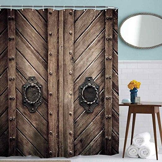 Charmhome Hot Sale Custom Old Wooden Garage Door Shower